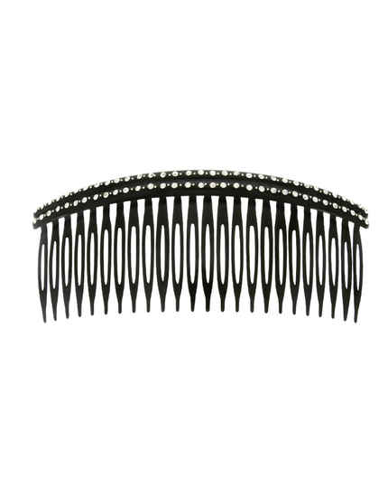Stylish Black Colour Hair Puff Comb Pin For Women