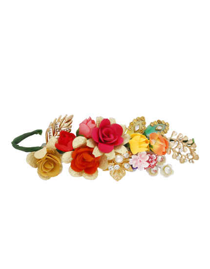 Multi Colour Stylish Hair Jewellery For Girls
