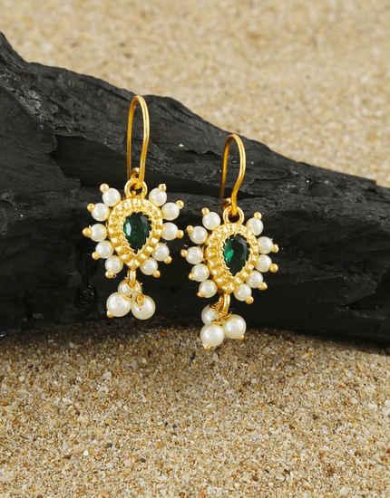 Maharashtrian Gold Finish Moti Styled Bugadi For Women
