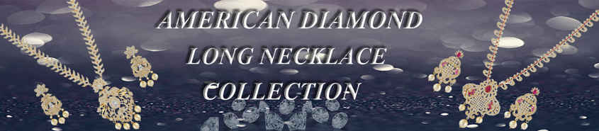 American Diamond Long Necklace
