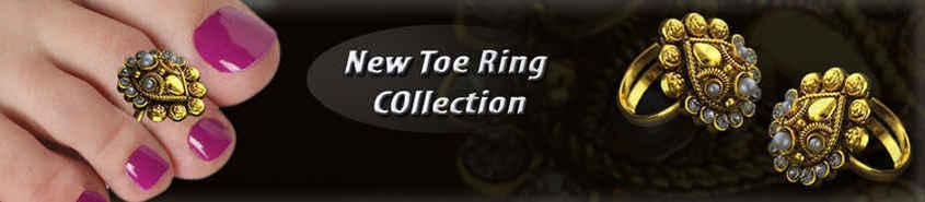 Golden Toe Ring