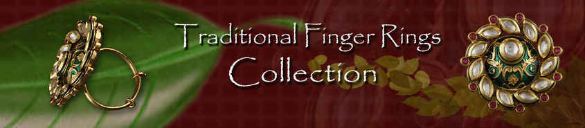 TRADITIONAL FINGER RINGS