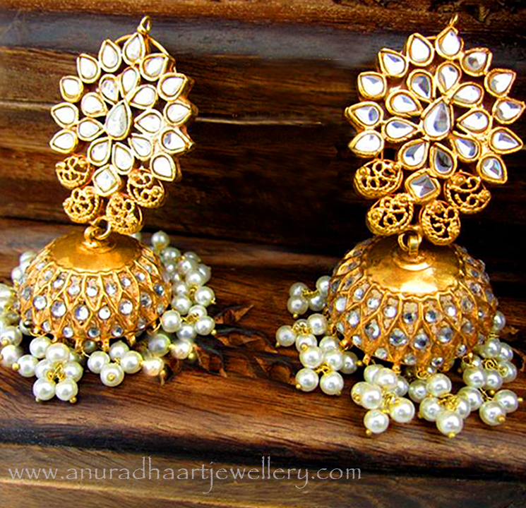Different Types Of Jhumka Earrings Every Women Must Hold In Her