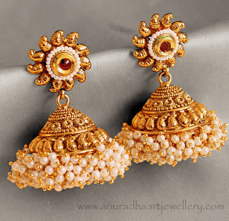 different types of jhumka earrings every women must hold