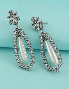 Long American Diamond Earrings NYE Special