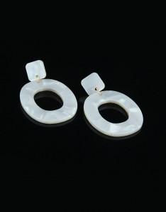Korean Hoop Earrings for NYE