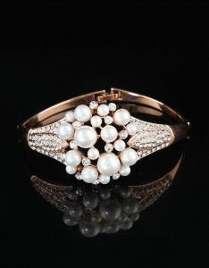 Pearl and Diamond Korean Bracelets