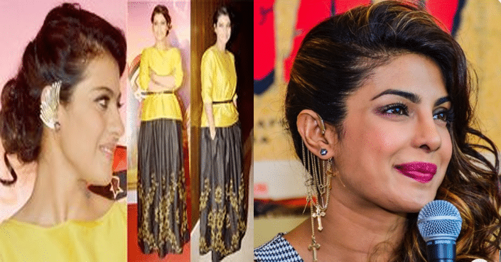 Earcuffs For Collared or High-Neck Kurtis