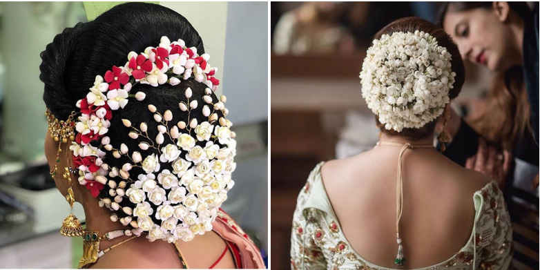 Wrapped or Gajra style bun accessory