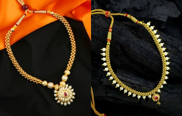 Traditional Moti Thushi Necklace